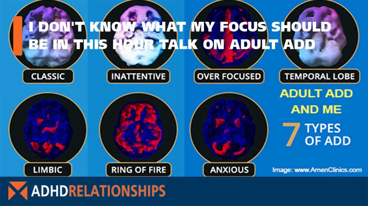 Talk On Adult ADD